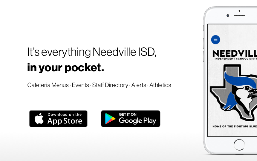 Download the Needville ISD App!