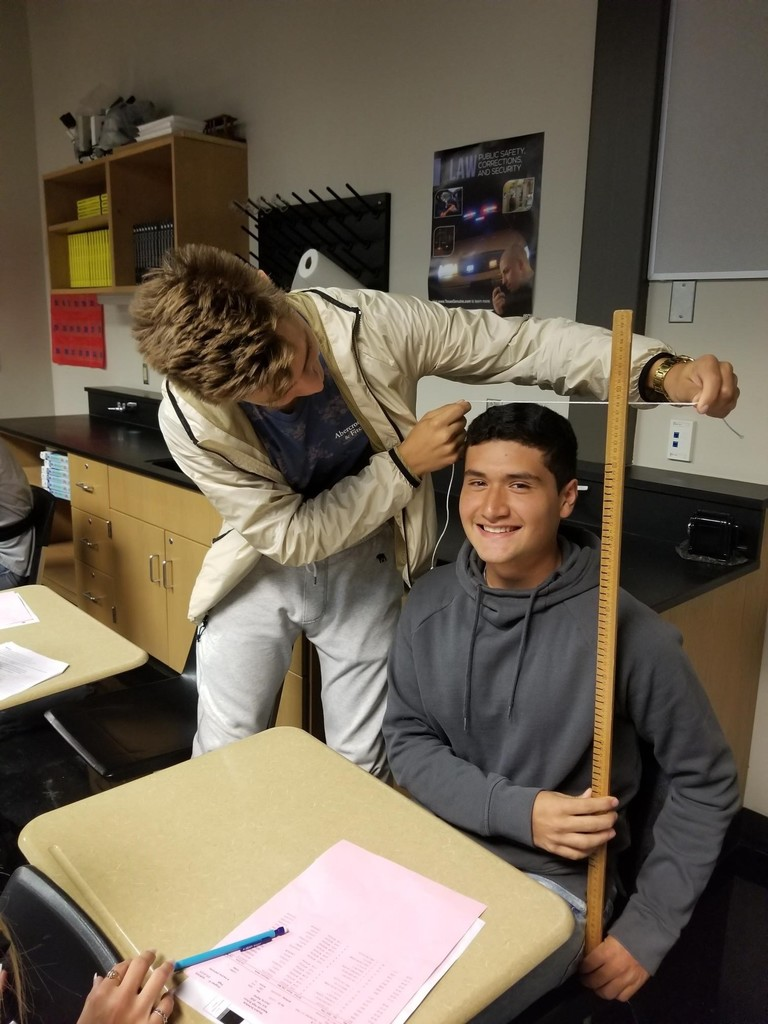 measuring in Forensics