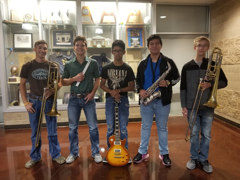 Area Qualifiers for Jazz Band